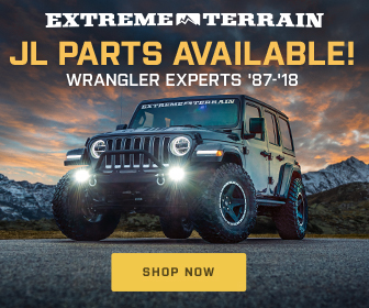 Extreme Terrain - Win Two 2018 JL Wranglers