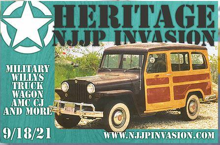 Heritage New Jersey Jeep Invasion